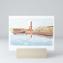 St. Petersburg Mini Art Print