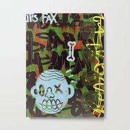 It's Fax. Metal Print