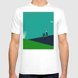 Between the marram grass T-shirt
