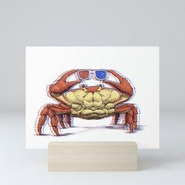 3D Crab Mini Art Print