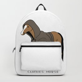 clothes of the horse Backpack