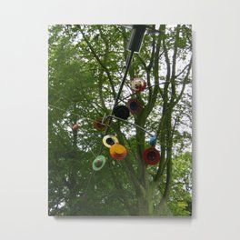 Hats in a tree Metal Print