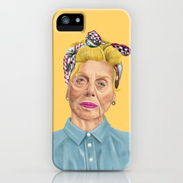 The Israeli Hipster leaders - Shulamit Aloni iPhone Case