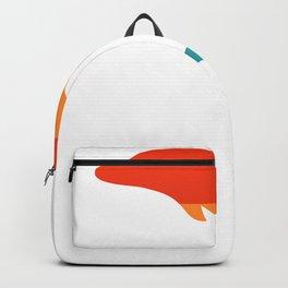 Pride Dolphin Rainbow Dolphin LGBT Backpack