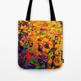 Abstract Golds Tote Bag