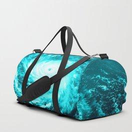 WaTeR Aqua Turquoise Hurricane Duffle Bag