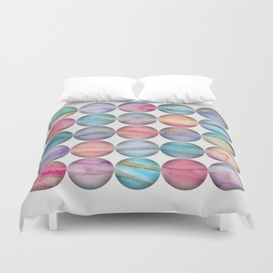 Marble Bubbles Duvet Cover