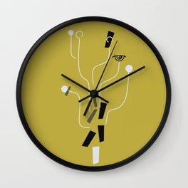 Clueless Bramble [Gold] Wall Clock