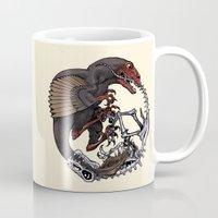 bouletcorp Mugs featuring Ouroboros by Bouletcorp