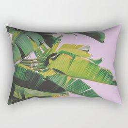 Banana Leaves I (Lavender) Rectangular Pillow