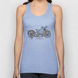 1932 Indian Scout Unisex Tank Top
