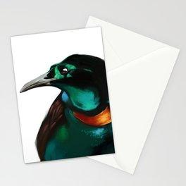 Splendid Astrapia - Bird of Paradise Stationery Cards