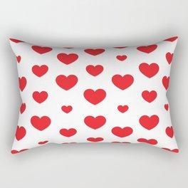Happy Valentine's Day Rectangular Pillow