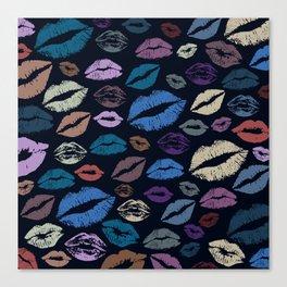 Lips 20 Canvas Print