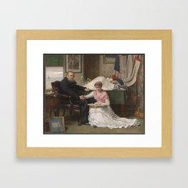 Sir John Everett Millais, Bt 1829–1896   The North-West Passage Framed Art Print
