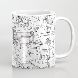 Bathtubs Coffee Mug
