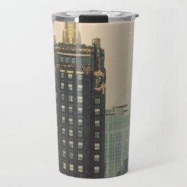 Carbide and Carbon Building Chicago Travel Mug