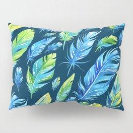 Boho Feather Pattern Part 6 Pillow Sham