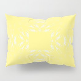 Lemon Yellow Color Burst Pillow Sham