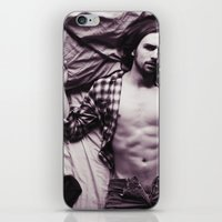 plaid iPhone & iPod Skins featuring Plaid by Kimball Gray