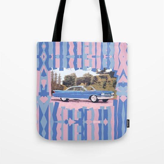 Cadillac Coupe De Ville, 1960 Tote Bag