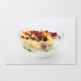 Healthy things Canvas Print