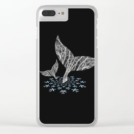 Tahlequah and her Calf Clear iPhone Case