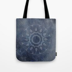 midnight blue stone throw pattern texture Tote Bag