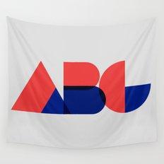 Geometric ABC Wall Tapestry