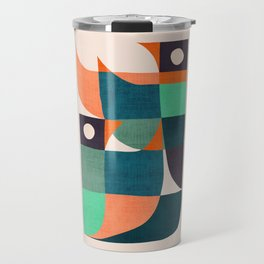 Two birds dancing Travel Mug