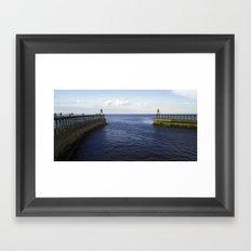 The North Sea Framed Art Print