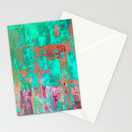 Abstract Ladder Stationery Cards
