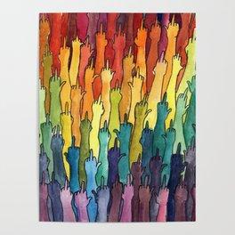 rainbow power Poster