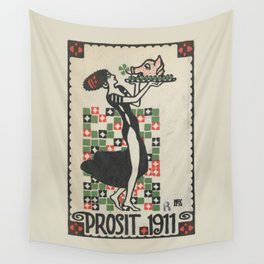 Prosit 1911 Wall Tapestry