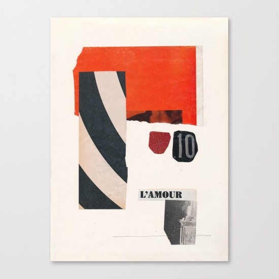 Aus der Tiefe des Raumes Canvas Print