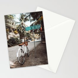 Follow That Dream / Tulum, Mexico Stationery Cards