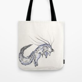Plunge the Waterfall Fox. Tote Bag