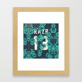 RAZR13 Framed Art Print