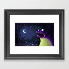 Ribbit Framed Art Print