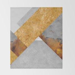 Modern Mountain No6-P3 Throw Blanket
