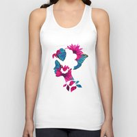 camouflage Tank Tops featuring Camouflage  by The Pairabirds