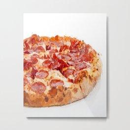 pizza food  Metal Print