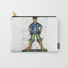 Paper Boater Carry-All Pouch