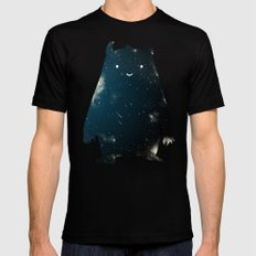 Mr. Cosmos (Color Version) MEDIUM Mens Fitted Tee Black