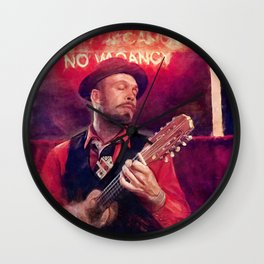 Bowie Johnson - Dum Spiro Spero Wall Clock