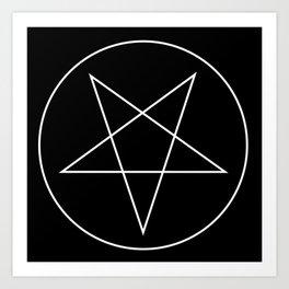 Pentagram of Set Art Print