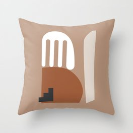 Shape study #10 - Stackable Collection Throw Pillow