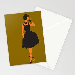 lady 2 Stationery Cards