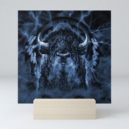 SPIRIT BUFFALO Mini Art Print