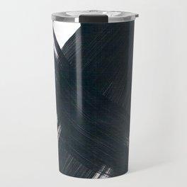 Abstract Brushstrokes No. 2 Travel Mug